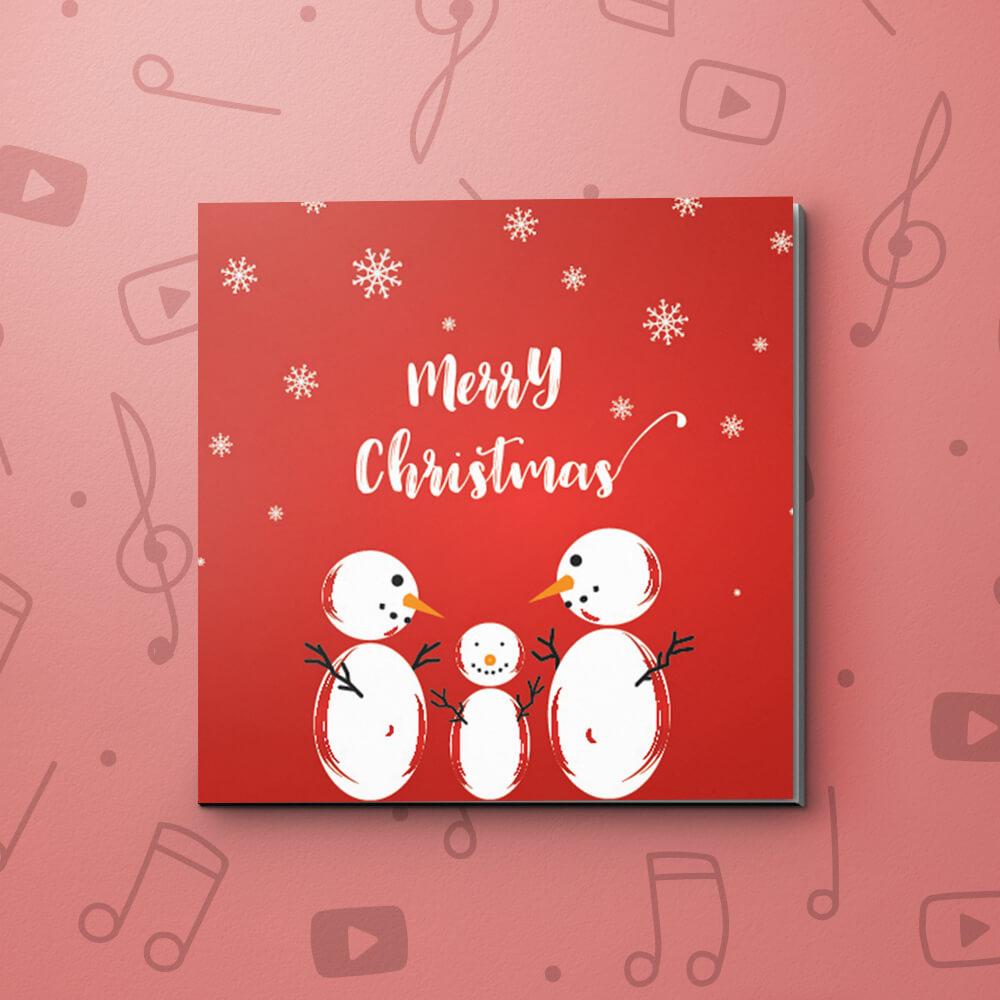 Snowman | Christmas Video Greeting Card | bigDAWGS Greetings