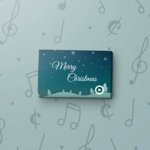Christmas Night - Musical Gift Tag