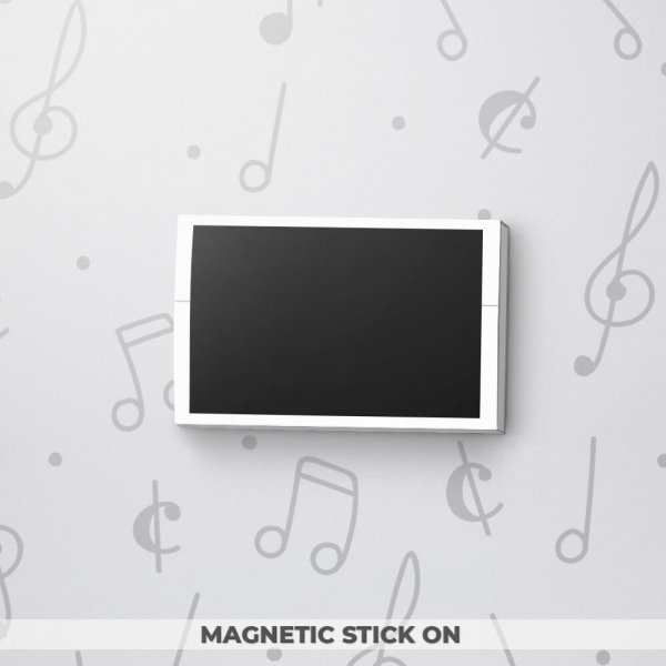 Blank Musical Gift Tag