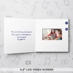 Menorah – Hanukkah Video Greeting Card