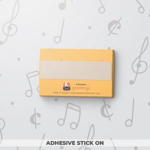 Birthday Wishes - Musical Gift Tag