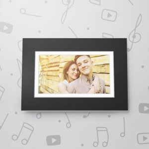 Blank Musical Photo Frame Card - 5 x 7