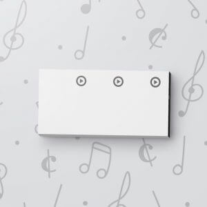 Blank 3 Button Sound Tag