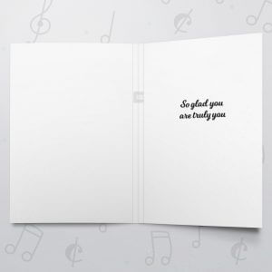 Be You – Musical LGBT Card