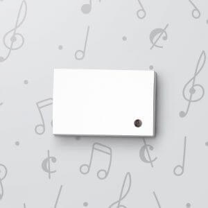Blank Light Activated Gift Tag