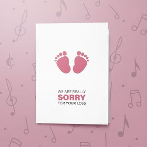 Child Loss – Musical Sympathy Card