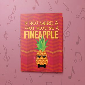 Fineapple – Musical Friendship Card