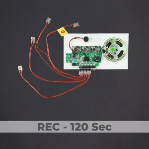 3 Button Sound Module - Rec 120 Sec