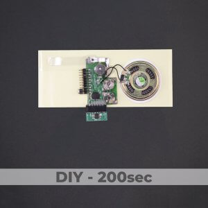 DIY Kit - Greeting Card Sound Module - 200 Sec