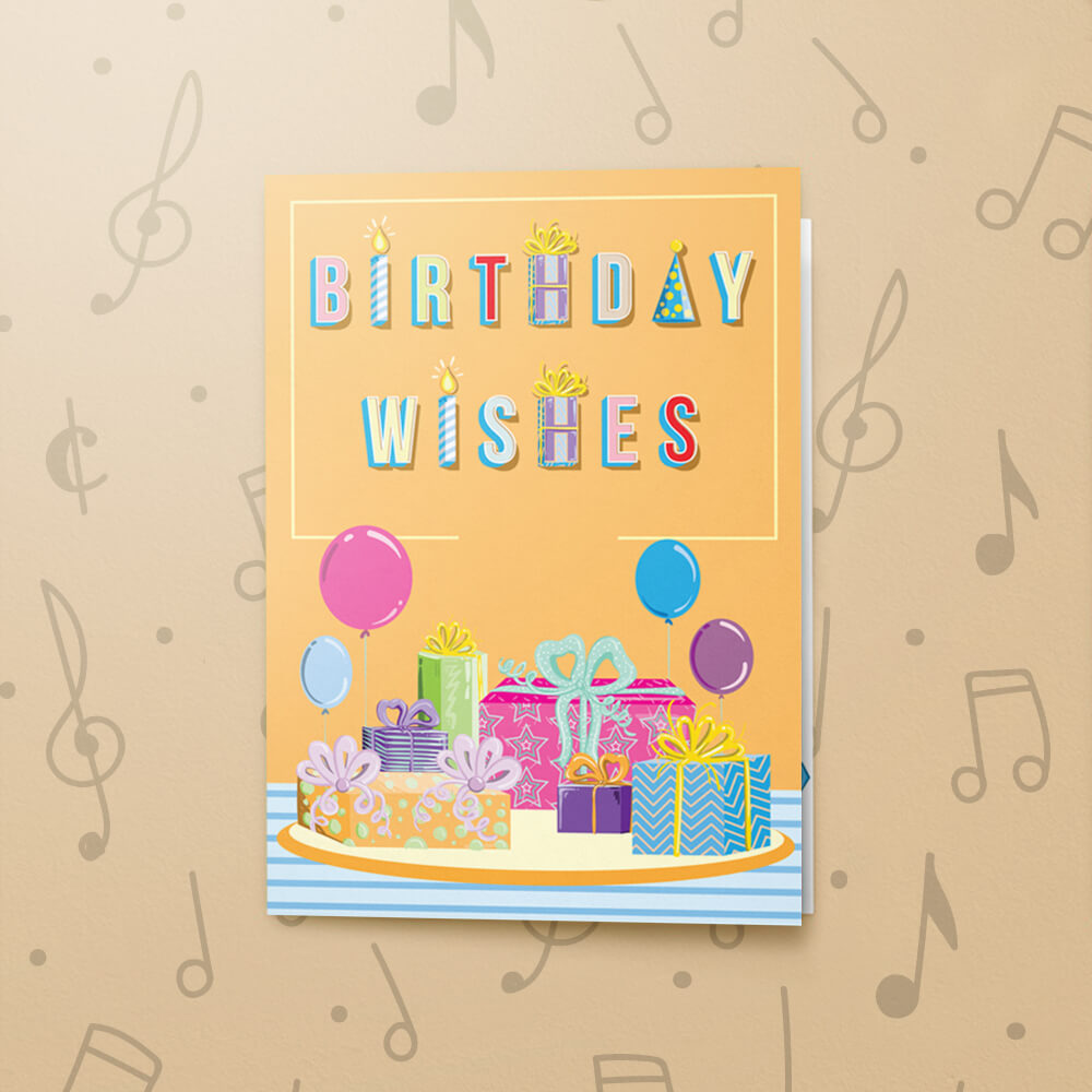 Birthday Wishes Musical Card