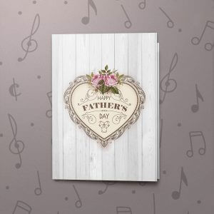 Happy Father's Day (Vintage) – Musical Father's Day Card
