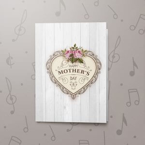 Happy Mother's Day (Vintage) – Musical Mother's Day Card