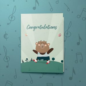 The Easiest Part of Life – Musical Graduation Card