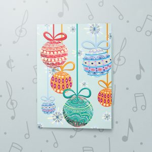 Christmas Ornaments – Musical Christmas Card