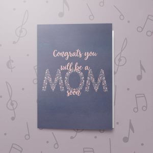 Soon a Mom – Musical Baby Card
