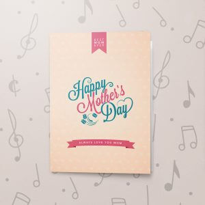 Mother's day - Vintage – Musical Mother's Day Card