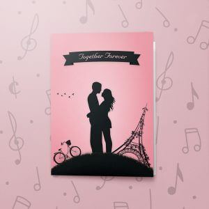 Together Forever (Paris Style) – Musical Love Card