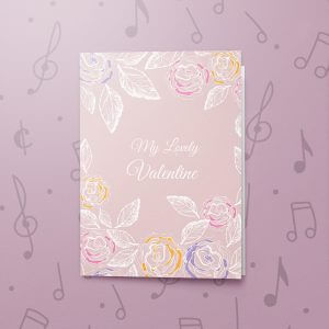 Pizza My Heart – Musical Valentines Card