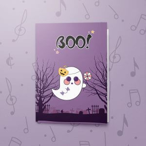 Boo! – Musical Halloween Card