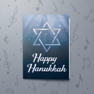 Star Hanukkah – Musical Hanukkah Card