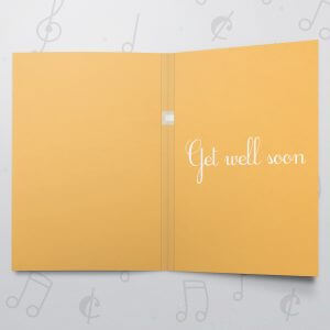 Hospital Food – Musical Get Well Card