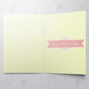 Only mom understands – Musical Mother's Day Card