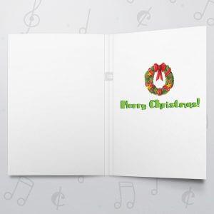 Merry Santa – Musical Christmas Card