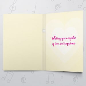 Congrats Brides – Musical LGBT Wedding Card