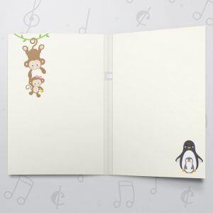 Happy 1st Birthday – Musical Birthday Card