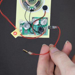 Shock Activated Sound Module - Rec 10 Sec
