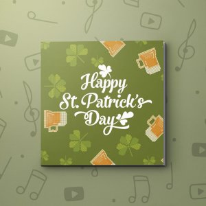 Pixel Beer – St. Patrick's Video Greeting Card
