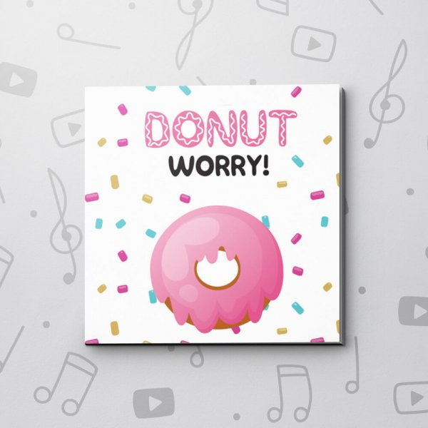 Donut Worry – Good Luck Video Greeting Card