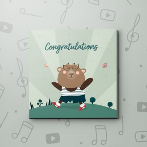 The easiest part of life – Graduation Video Greeting Card