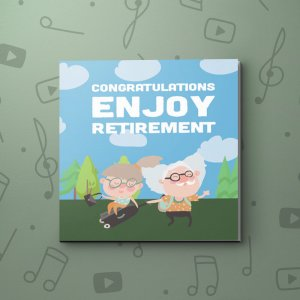 What makes you happy – Retirement Video Greeting Card