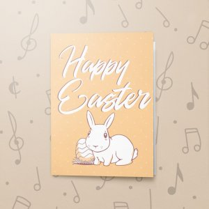 White Rabbit – Musical Easter Card