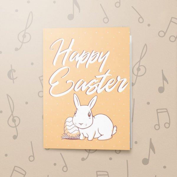 White Rabbit – Musical Easter Card