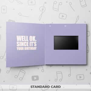 Piece of Me – Birthday Video Greeting Card