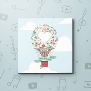 Just Married – Wedding Video Greeting Card