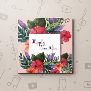 Happily Ever After – Wedding Video Greeting Card