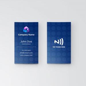 Dots - NFC Business Card - Vertical